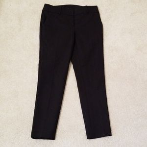 Loft black ankle pants
